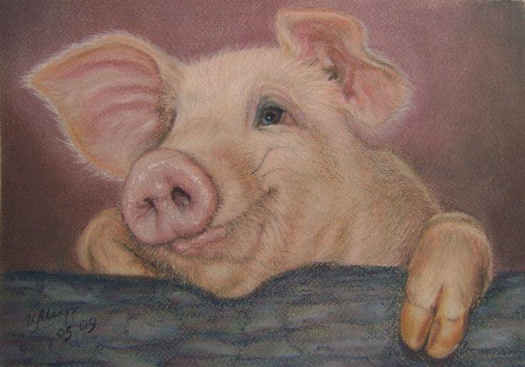 Леночке, открытки картинки свиньи