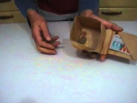 Origami wallet with coin purse - YouTube