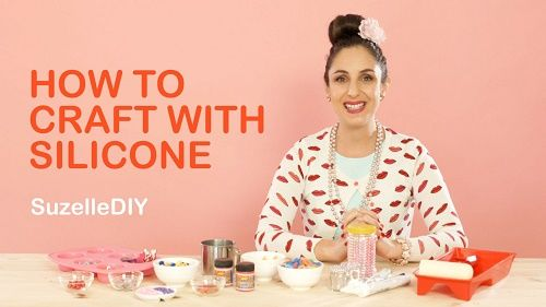 Silicone isn't just to fix to fix your sink and your car. Our favourite poppie Suzelle DIY shows you how to make great gifts - with silicone ...