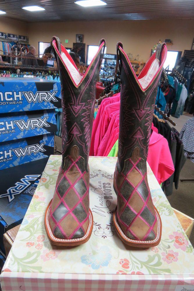 Women's Macie Bean Boots *Queen Of The Road*  FREE SHIPPING M9054 #MacieBean #CowboyWestern