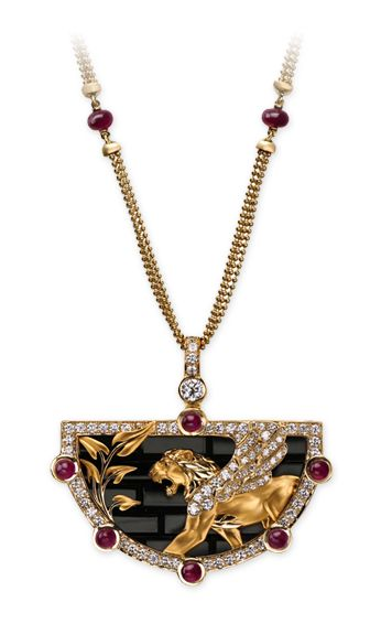 Magerit - Babylon Collection: Necklace Ishtar Gate