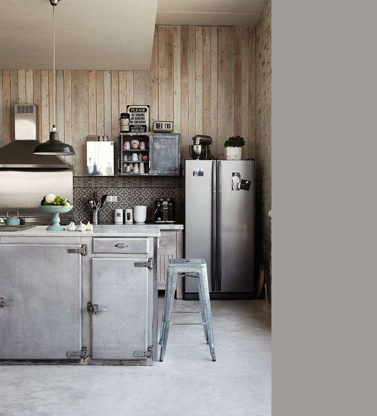 25 beste idee n over keuken industri le op pinterest - Keuken industriele loft ...