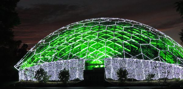 Missouri Botanical Garden Glow!  For the first time ever, hundreds of thousands of lights will illuminate some of the Garden's most iconic locations this winter at Garden Glow. Walkways will be transformed into sensory light tunnels providing an explosion of visual magic, while traditional candlelight village displays will delight crowds of all ages.