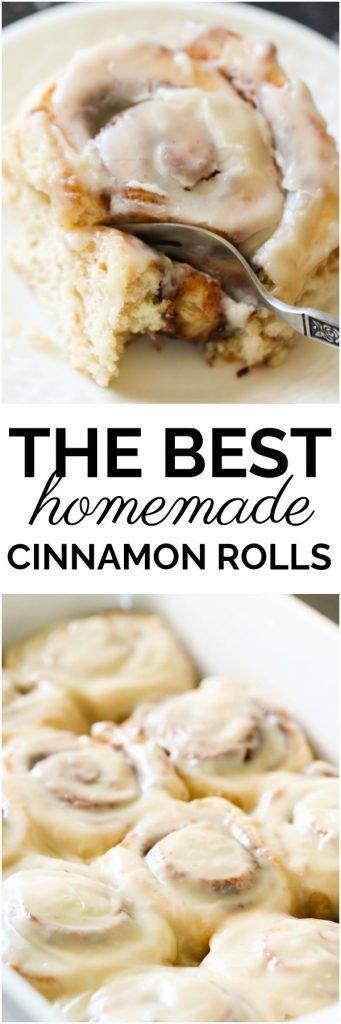 The BEST Homemade Cinnamon Rolls – Six Sisters' Stuff