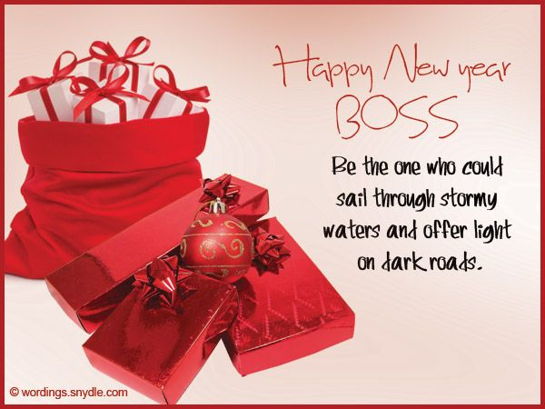 Happy New Year 2017 Wishes Quotes Messages For Boss ...