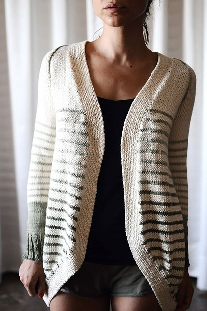 """Incredible Custom-Fit Raglan"" pattern by Pamela Costello knit by rililie on Ravelry"