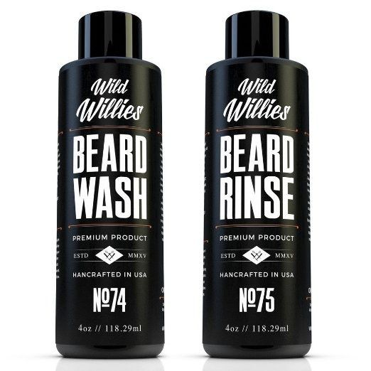 This beard shampoo and conditioner that will leave you feeling moisturized and not smelling weird ($37). | Here's What People Are Buying On Amazon Right Now