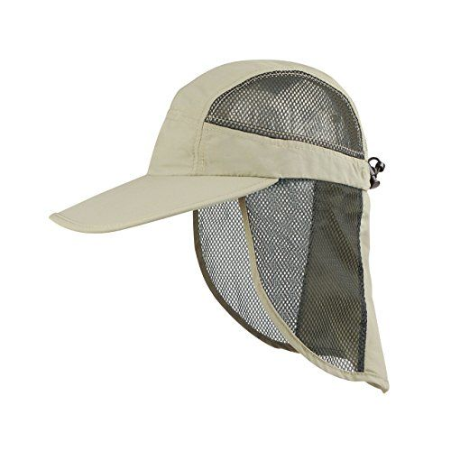 Juniper Outdoor UV Cap with Mesh Flap and Sides One Size Khaki -- To view further for this item, visit the image link.(This is an Amazon affiliate link and I receive a commission for the sales)