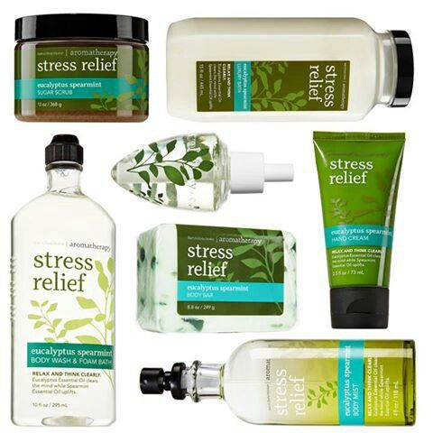 Top 5 Most Refreshing Ideas to Prevent Stress from Controlling You Bath and Body Works Stress Relief collection