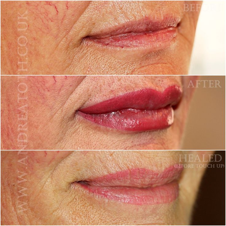 Lip Semi Permanent Makeup Eyebrow
