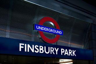 LU Finsbury Park station