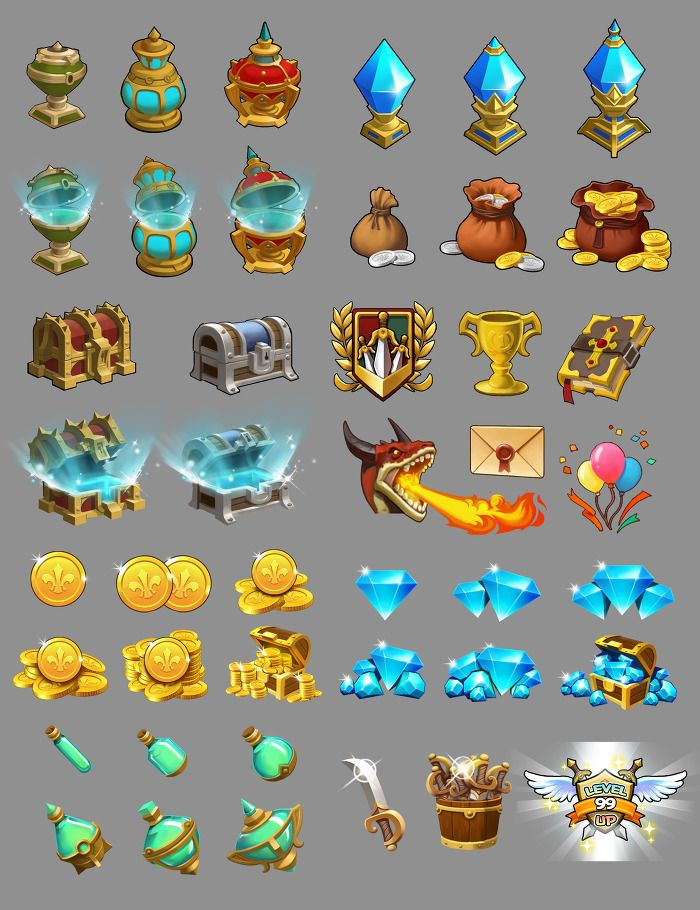 Dragon Hunter icons