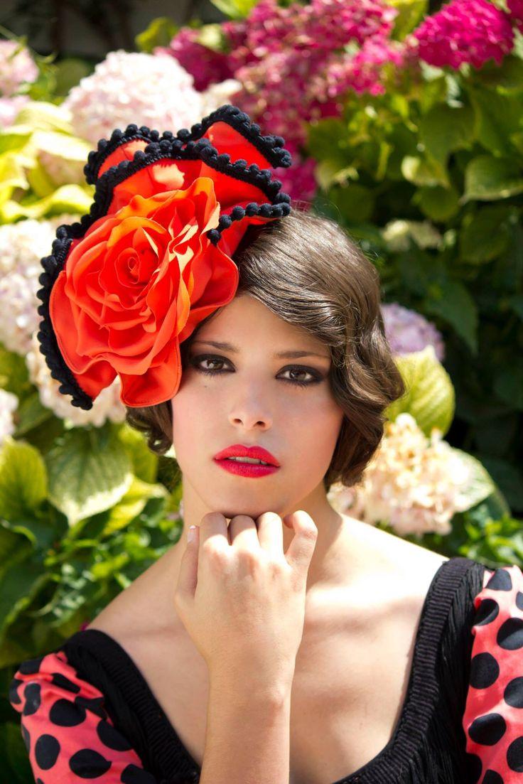 """Colección tocados moda flamenca """" Imaginaria """""""