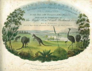 'Views in Australia' Joseph Lycett 1824-5