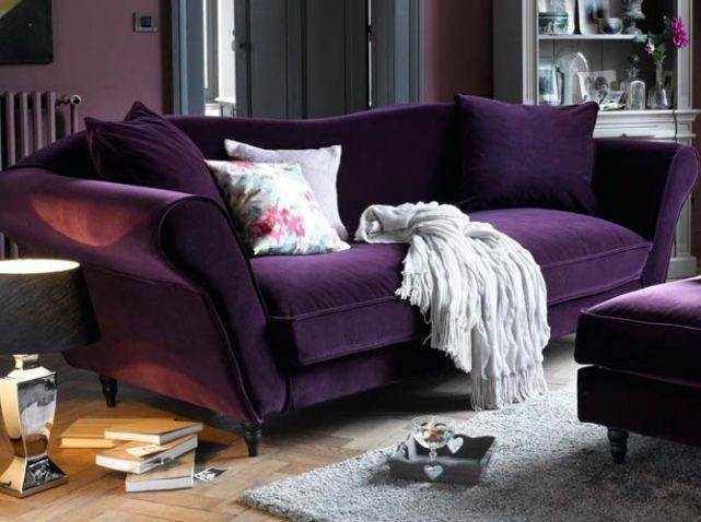 1000 id es propos de canap violet sur pinterest salle tonalit de bijou - Canape chesterfield violet ...