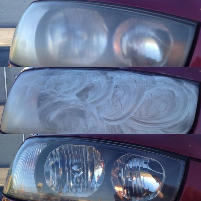 Clean headlights w/ toothpaste. Can it really be this easy?
