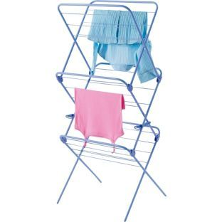 Minky Lavender 3 Tier Indoor Airer - Purple.  850/0447 £19.99