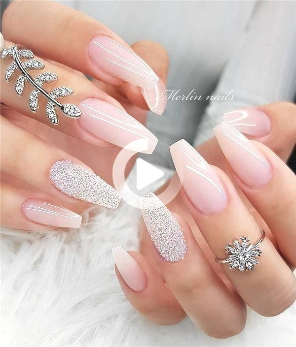 40 Nature Ombre Nails To Inspire Your Next Nail Design Coffin