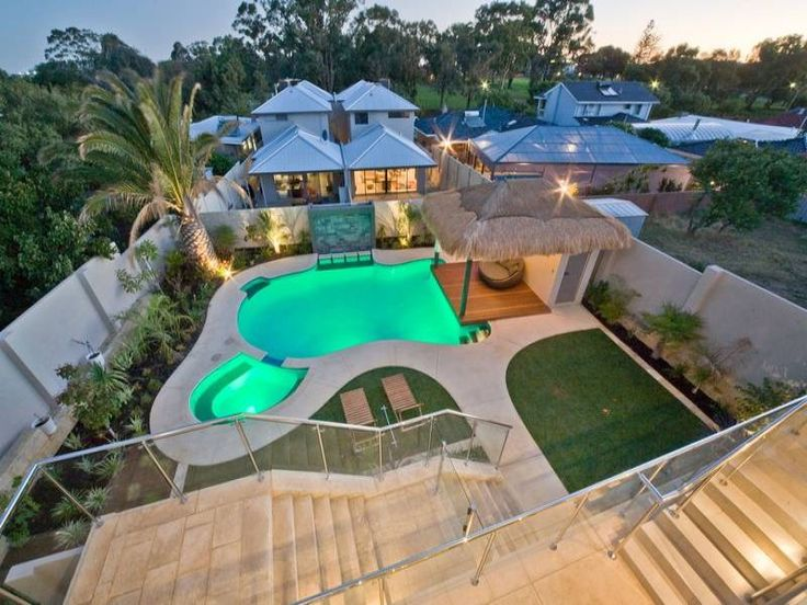 Backyard Swimming Pools Designs Extraordinary Design Review