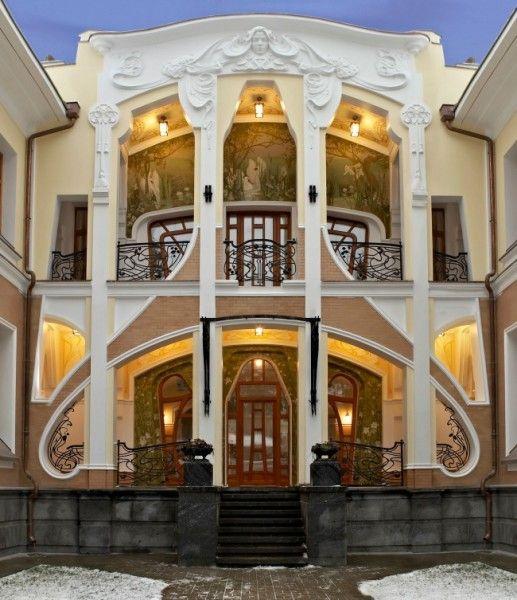 Russian Neo Art Nouveau architecture