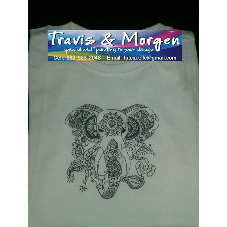 Hand Drawn DIY Paint yourself a T-shirt