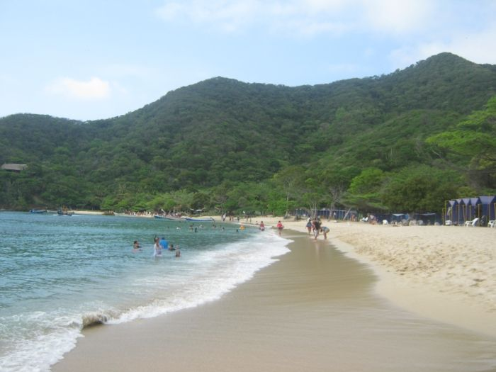 Disfrutando las playas del Parque Tayrona, publicado por nuestro usuario Elkin