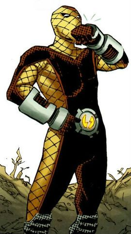 The Shocker (Herman Schultz) is a fictional supervillain that appears in comic books published by Marvel Comics.The character first appeared in The Amazing Spider-Man #46 (March 1967) and was created by writer Stan Lee and artist John Romita, Sr..[1]  He appeared as a regular character in Thunderbolts from issue #157 to 162, when he deserted the team.