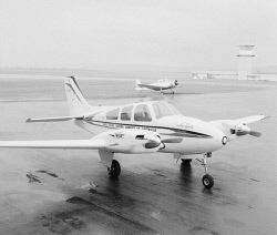 THE WA ROYAL FLYING DOCTOR SERVICE HAS RECEIVED TWO NEW MODERN BEECHCRAFT PLANES, ONE OF THEM IS PICTURED AT PERTH AIRPORT. WAN-0001375 © WestPix