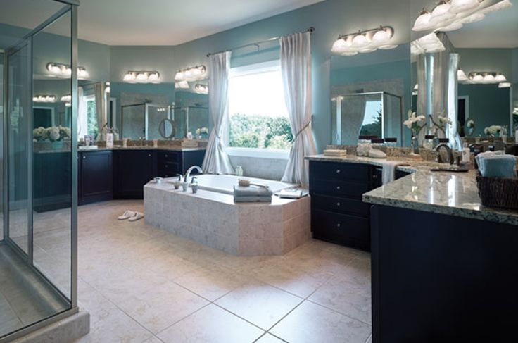 Schumacher Homes Spring Hill Master Bathroom His Hers