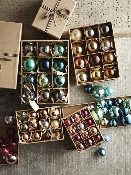 Hue Ornaments in Sugar Plum design by Roost--cloick through to win these in the Burke decor Giveaway!
