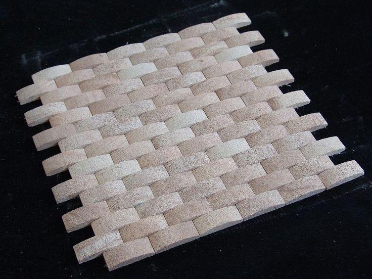 Sienna mosaic range - sandstone pavers and tiles http://www.rockmark.com.au/sandstone-pavers-range
