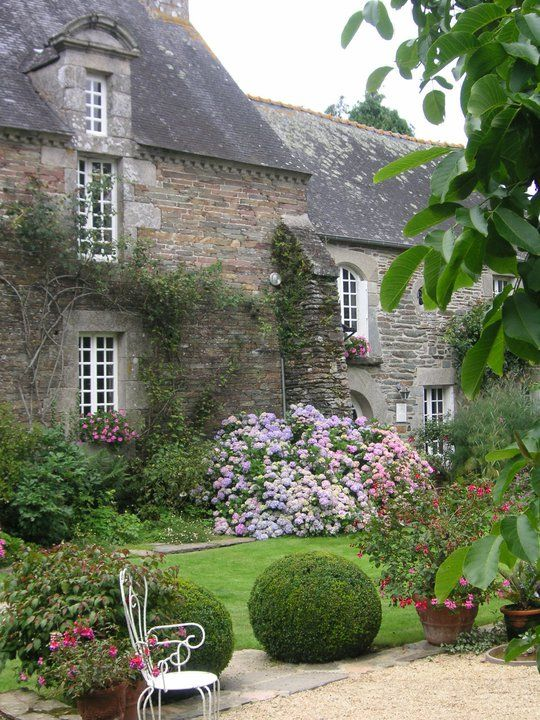 Jardin du Botrain, Bretagne, France