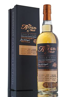 The 2013 Autumn release from Arran distillery is single bourbon cask #538. This limited edition release was distilled in 1996 and aged for 17 years before being bottled in 2013 with only 141 bottles filled.    http://www.abbeywhisky.com/arran-single-cask-538-17-year-old-1996-island-whisky