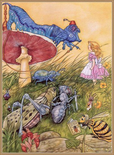 Alice in Wonderland.  Illustrations and Images
