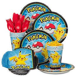 Pokemon Party Supplies, Decorations and Ideas | WholesalePartySupplies.com