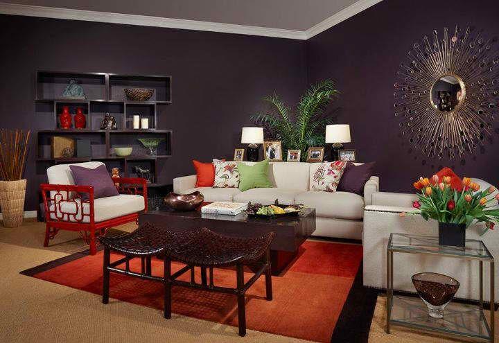 urban living room decorating ideas   Urban sophisticated living room design by Alan Design Studio .
