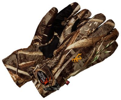 Browning Wicked Wing Insulated Gloves for Men - Realtree Max-5 - XL