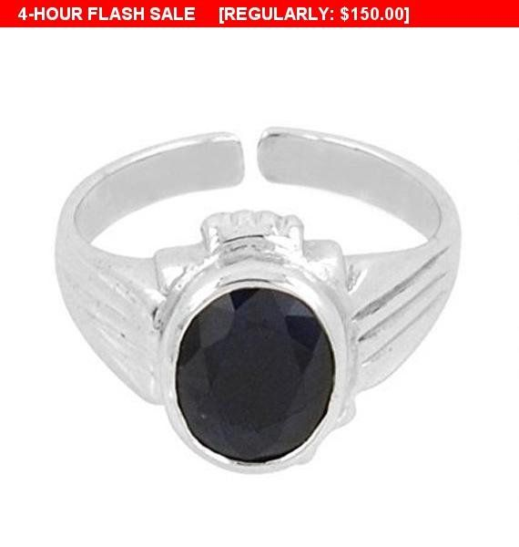 8.25 Ratti Ruby Astrological Ring in Silver
