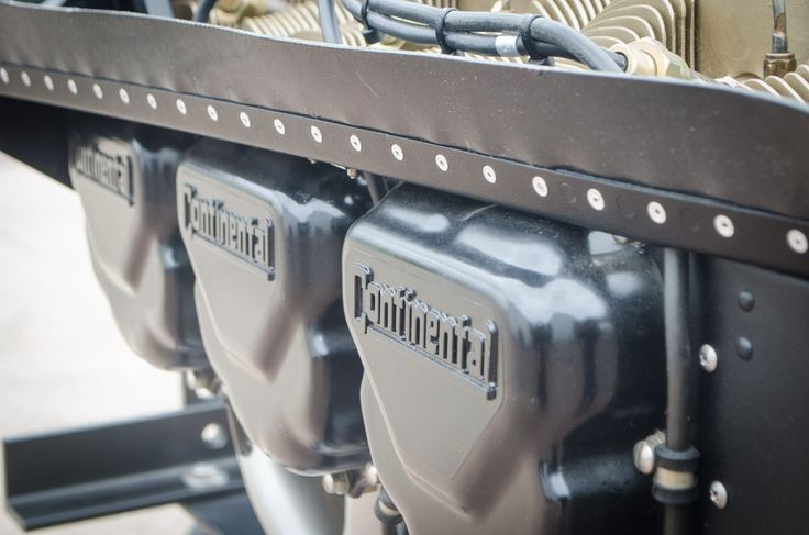 A shot of our 520 Avgas Engine Series. 250 to 325 hp.  #Aviation #Engine #ContinentalMotors #AVGeek