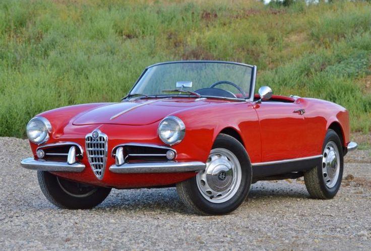 1957 Alfa Romeo Giulietta Spider (Chassis: 1495 02134)