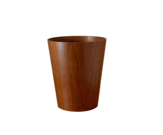 These waste baskets are classic modern accents offered in beautiful woods. Suitable for office, bedroom... virtually anywhere... to tidy up without compromising goods looks or good taste.