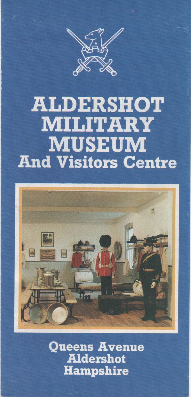1985 brochures Aldershot Military Museum Aldershot Broadlands Romsey Royal Marines Museum Hillier Arboretum Places to visit in Hampshire by VintageNEJunk on Etsy