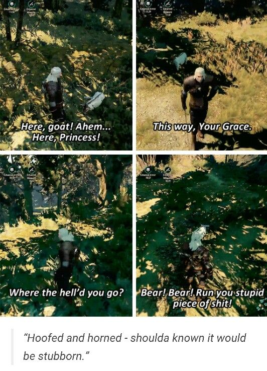 Haha oh Geralt http://the-witcher.tumblr.com/