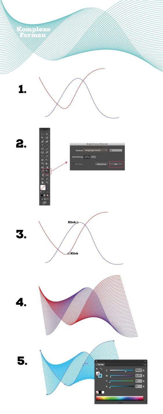 How to draw … in adobe Illustrator #Hair #Design #Tutorial #Zeichnen #AdobeIll… – Fabian