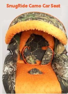 Country Camo Cartseat!! Cute for a little country boy!
