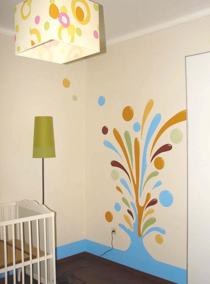 Pinturas decorativas para crianças