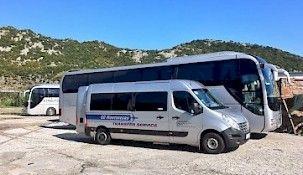 Minibus, van transport Montenegro. Airport transfer
