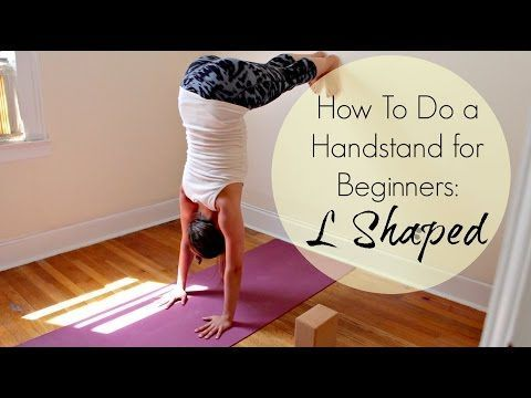 How to Do A Handstand for Beginners | ChriskaYoga