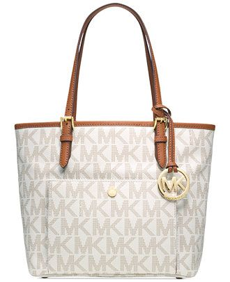 MICHAEL Michael Kors Jet Set Medium Snap Pocket Tote R$ 1340,00