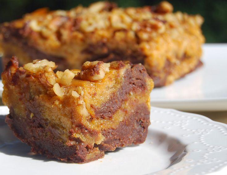 Whole Wheat Pumpkin Chocolate Brownies [Vegan] | Pumpkin ...